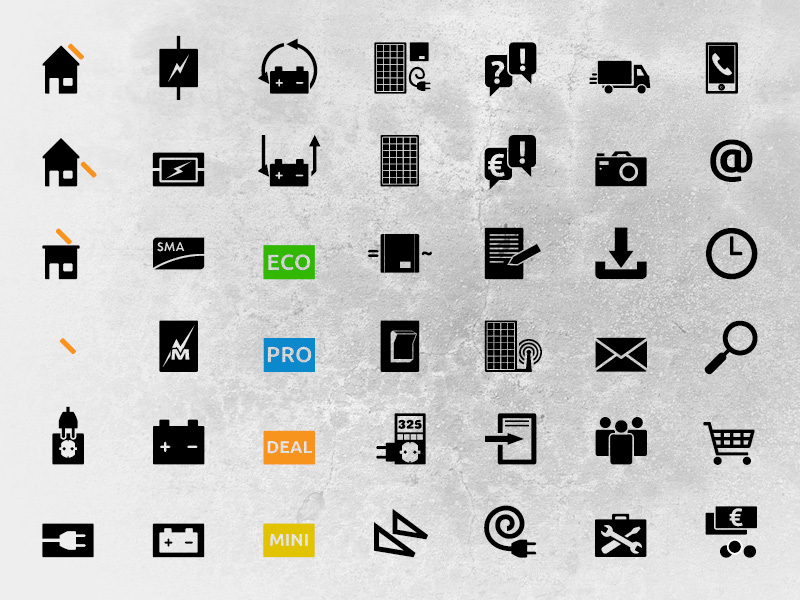 IconSet solar-pac